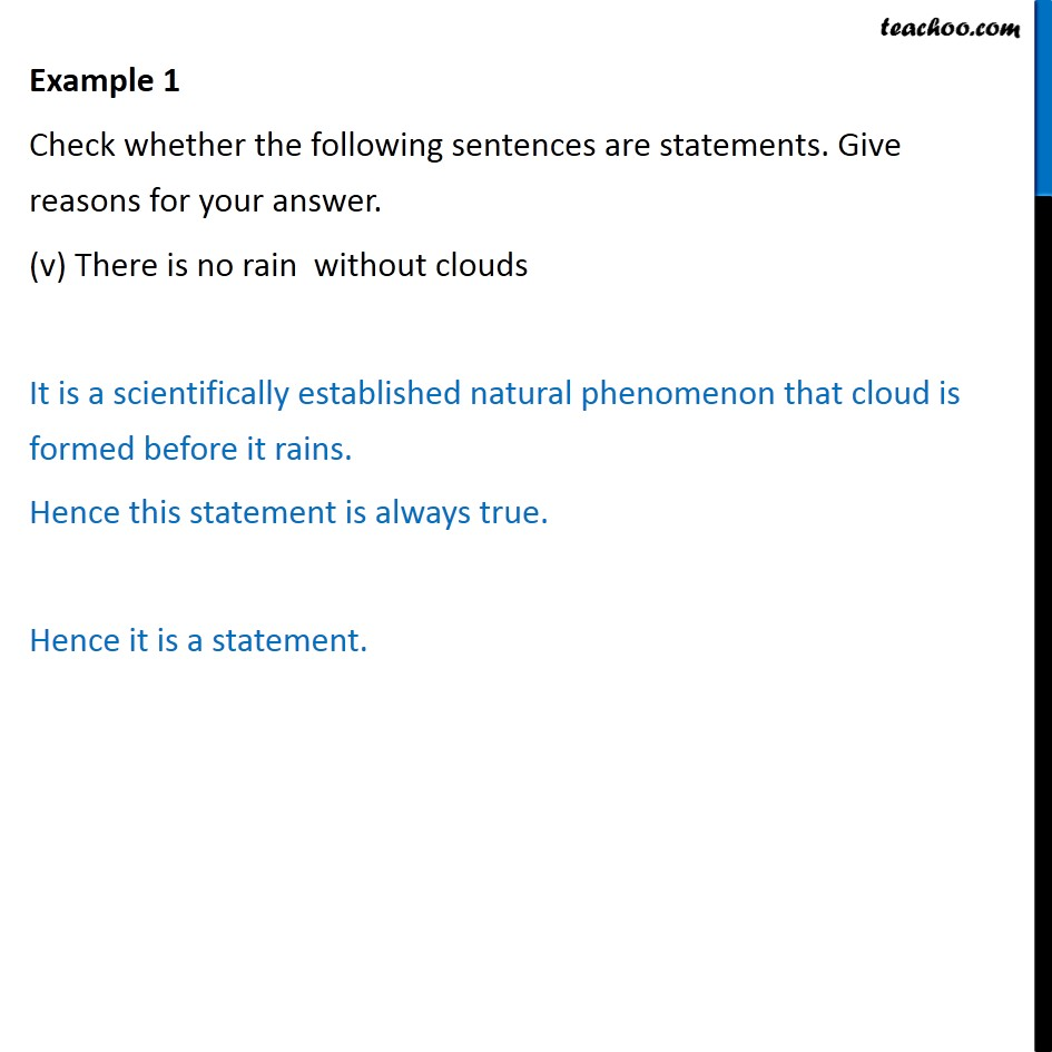 Example 1 - Chapter 14 Class 11 Mathematical Reasoning - Part 5