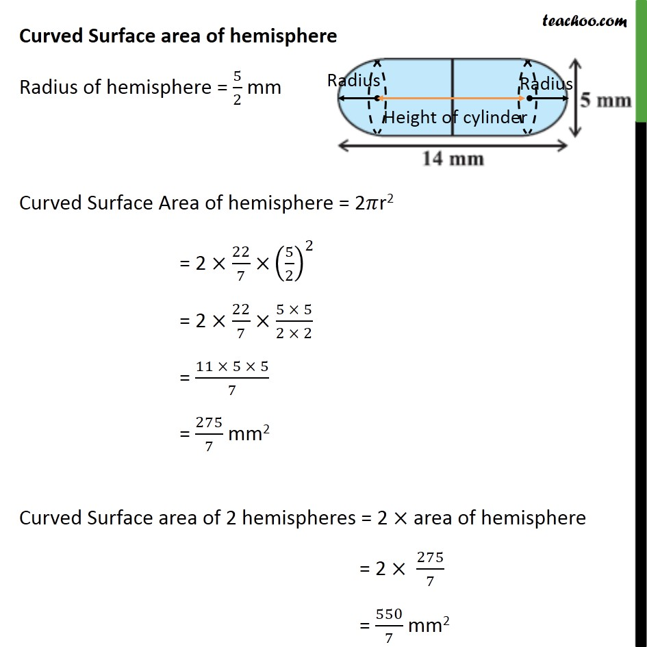Ex 13.1, 6 - Chapter 13 Class 10 Surface Areas and Volumes - Part 3
