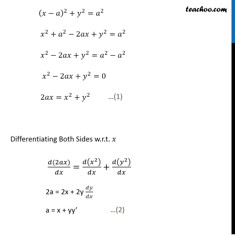 Ex 9.3, 6 - Chapter 9 Class 12 Differential Equations - Part 2
