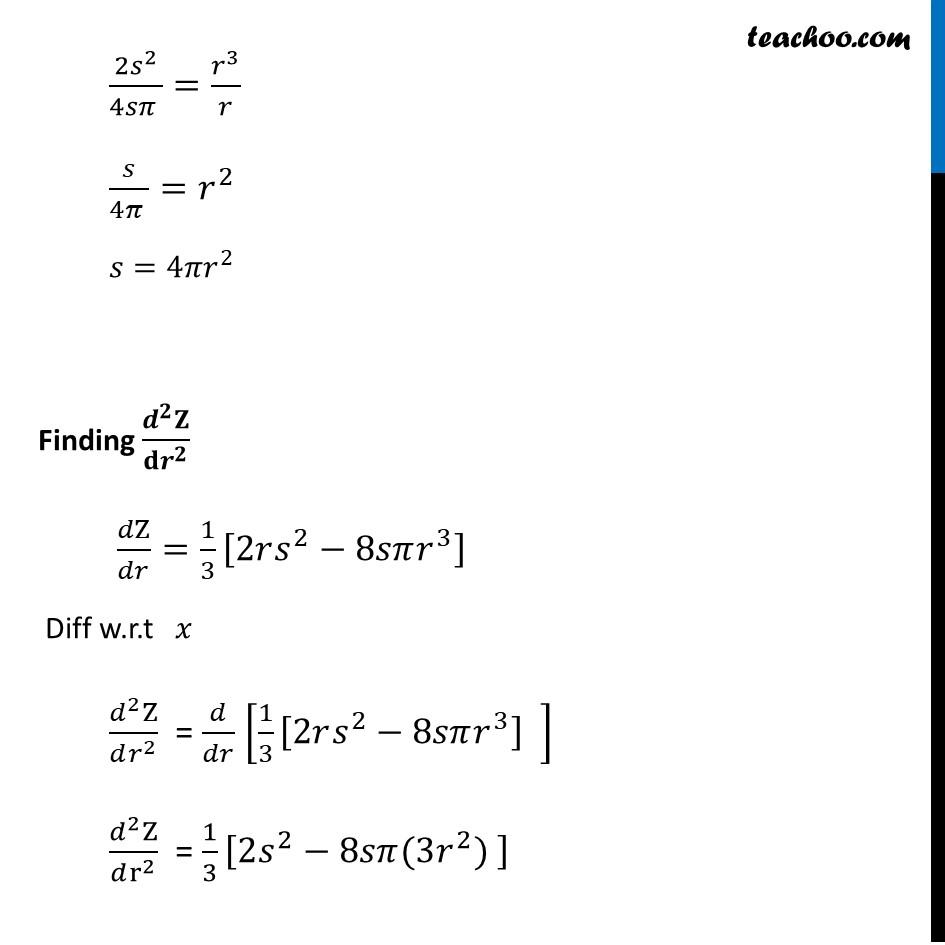Ex 6.5,26 - Chapter 6 Class 12 Application of Derivatives - Part 7