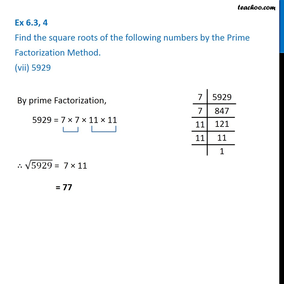 Ex 6.3, 4 - Chapter 6 Class 8 Squares and Square Roots - Part 7