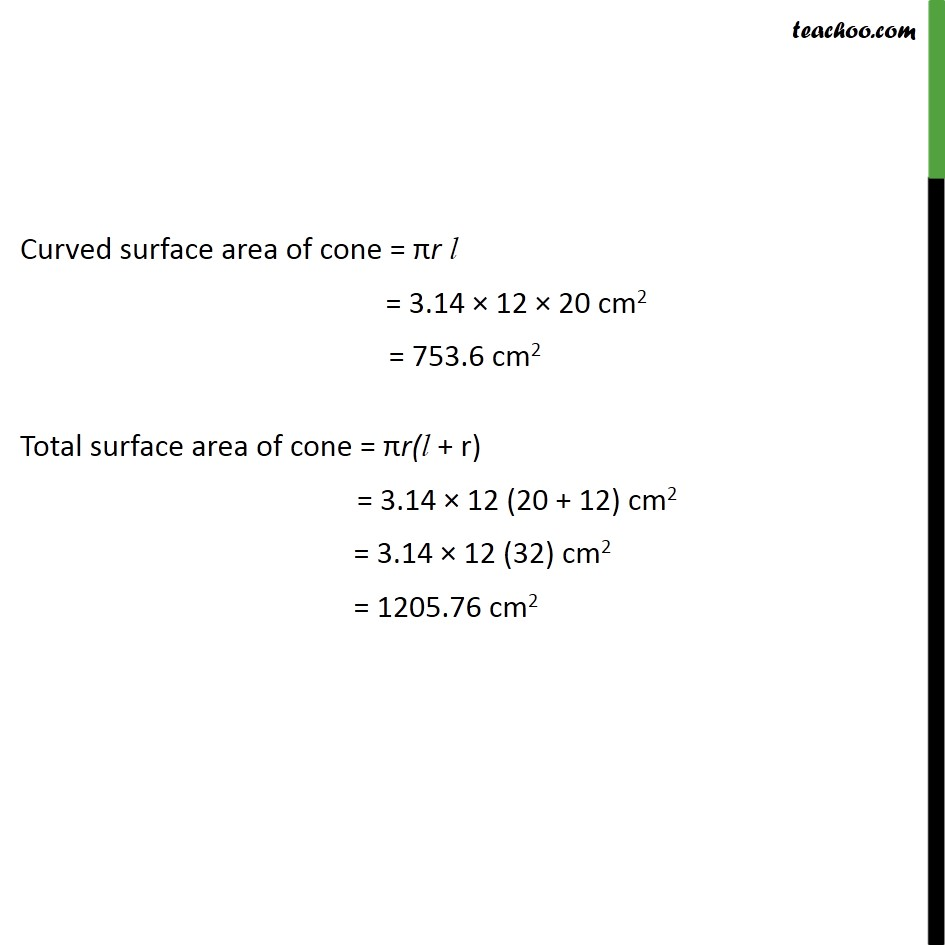 Example 5 - Chapter 13 Class 9 Surface Areas and Volumes - Part 2