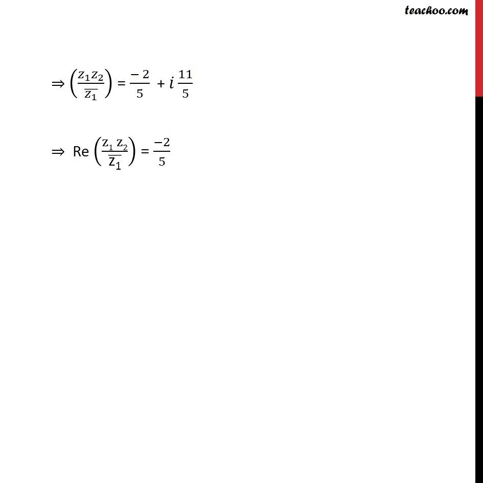 Misc 12  - Chapter 5 Class 11 Complex Numbers - Part 4