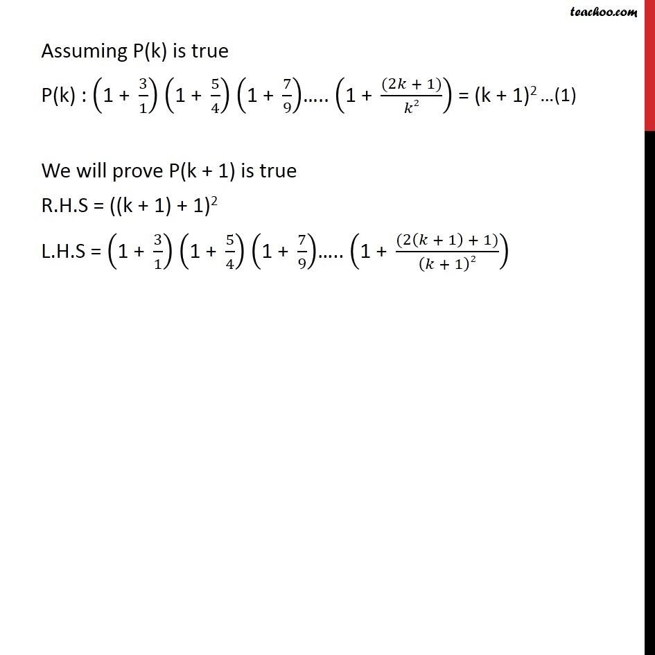 Ex 4.1, 13 - Chapter 4 Class 11 Mathematical Induction - Part 2