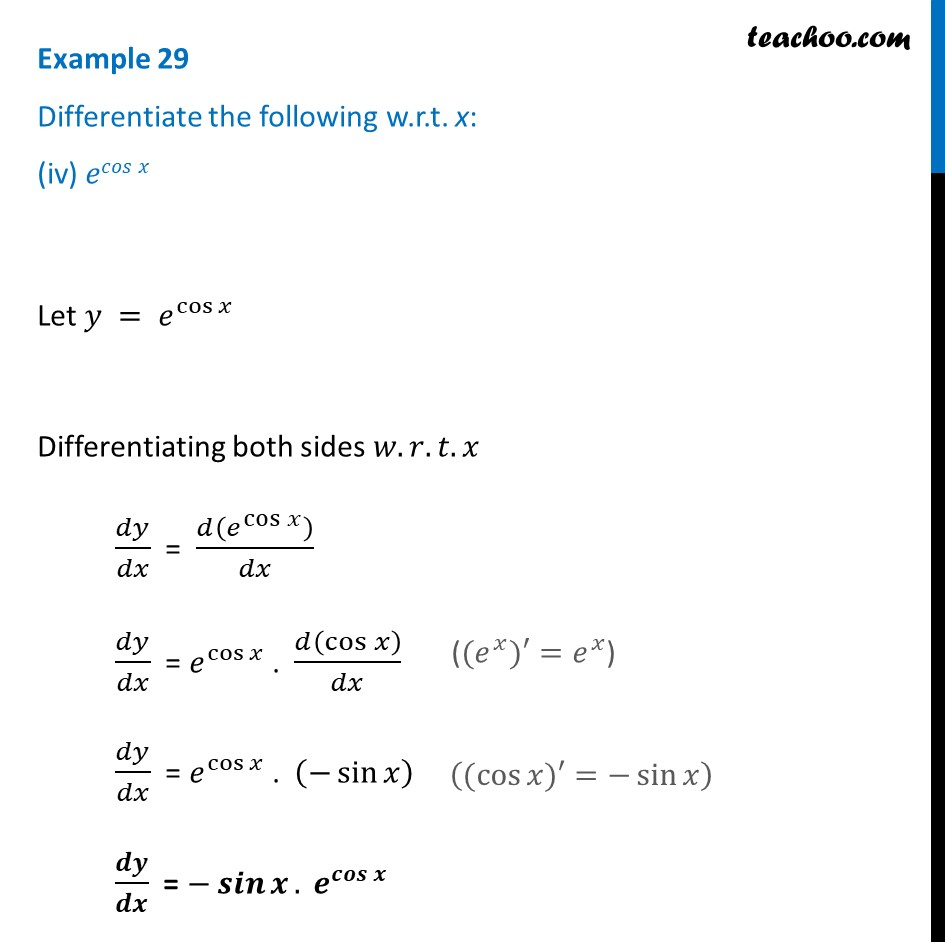 Example 29 - Chapter 5 Class 12 Continuity and Differentiability - Part 4