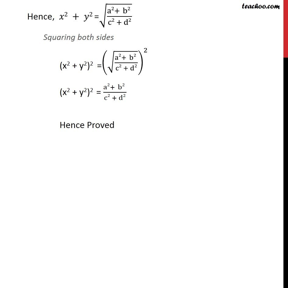 Misc 4 - Chapter 5 Class 11 Complex Numbers - Part 4