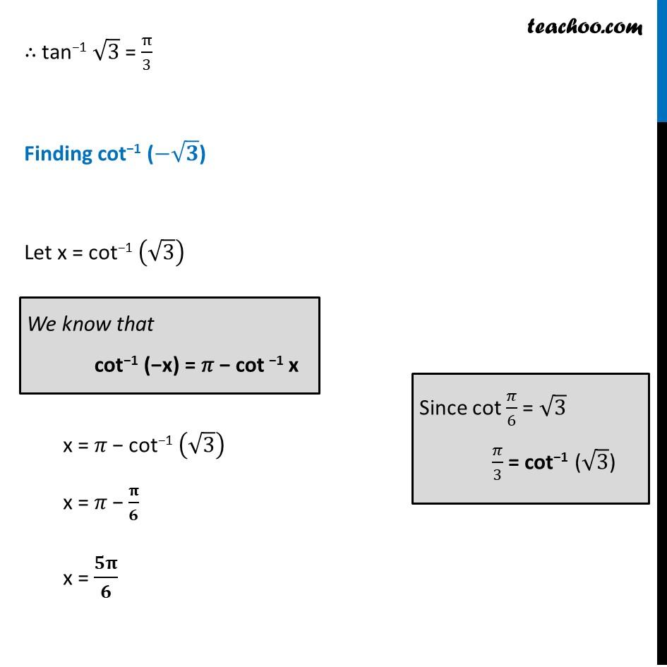 Ex 2.2, 21 - Chapter 2 Class 12 Inverse Trigonometric Functions - Part 2