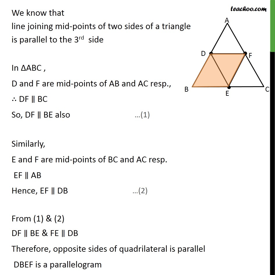 Ex 6.4, 5 - Chapter 6 Class 10 Triangles - Part 2