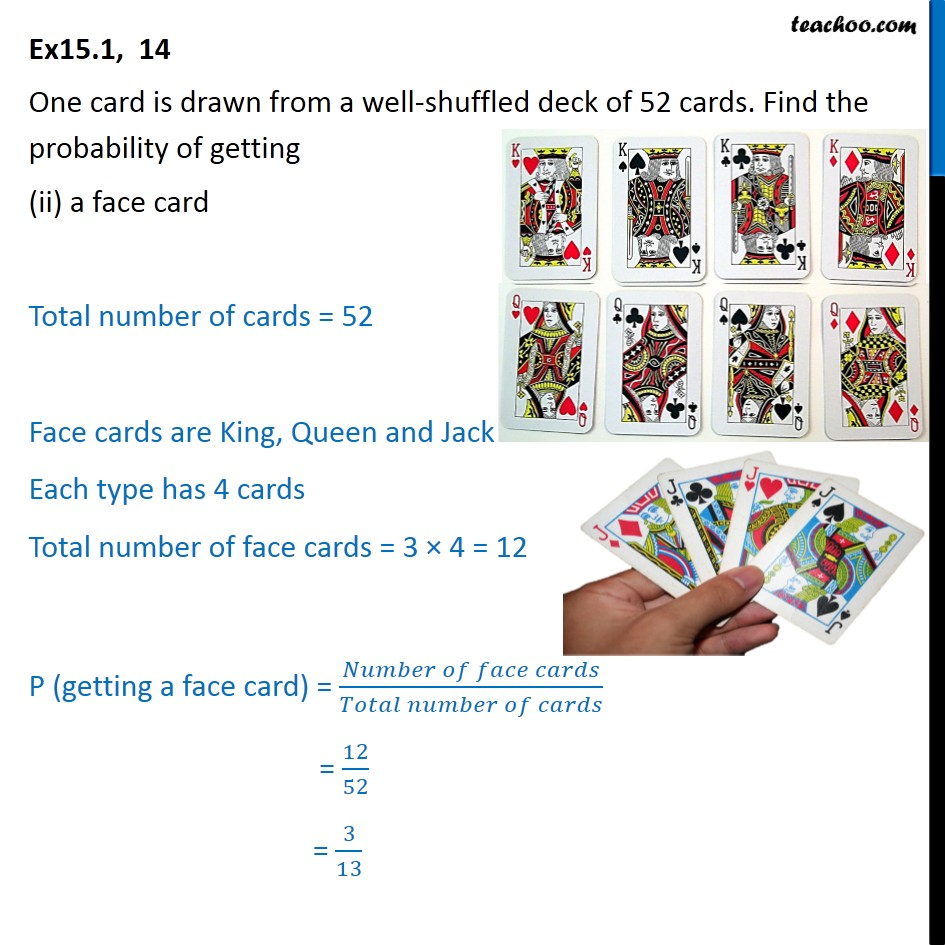 Ex 15.1, 14 - Chapter 15 Class 10 Probability - Part 2