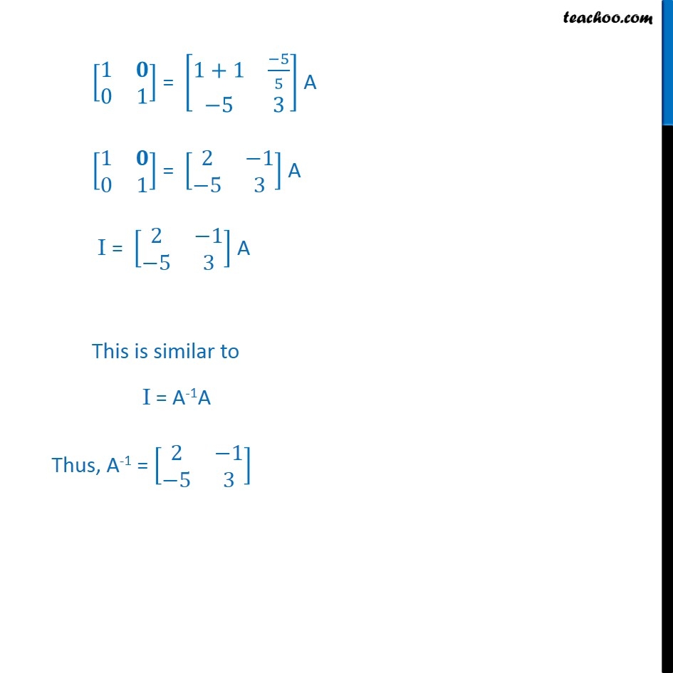 Ex 3.4, 7 - Chapter 3 Class 12 Matrices - Part 3