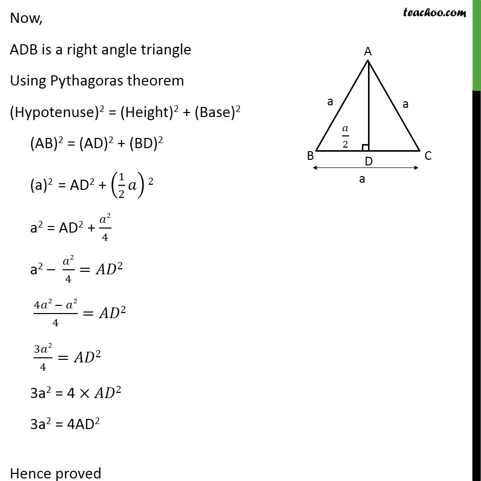 Ex 6.5, 16 - Chapter 6 Class 10 Triangles - Part 3