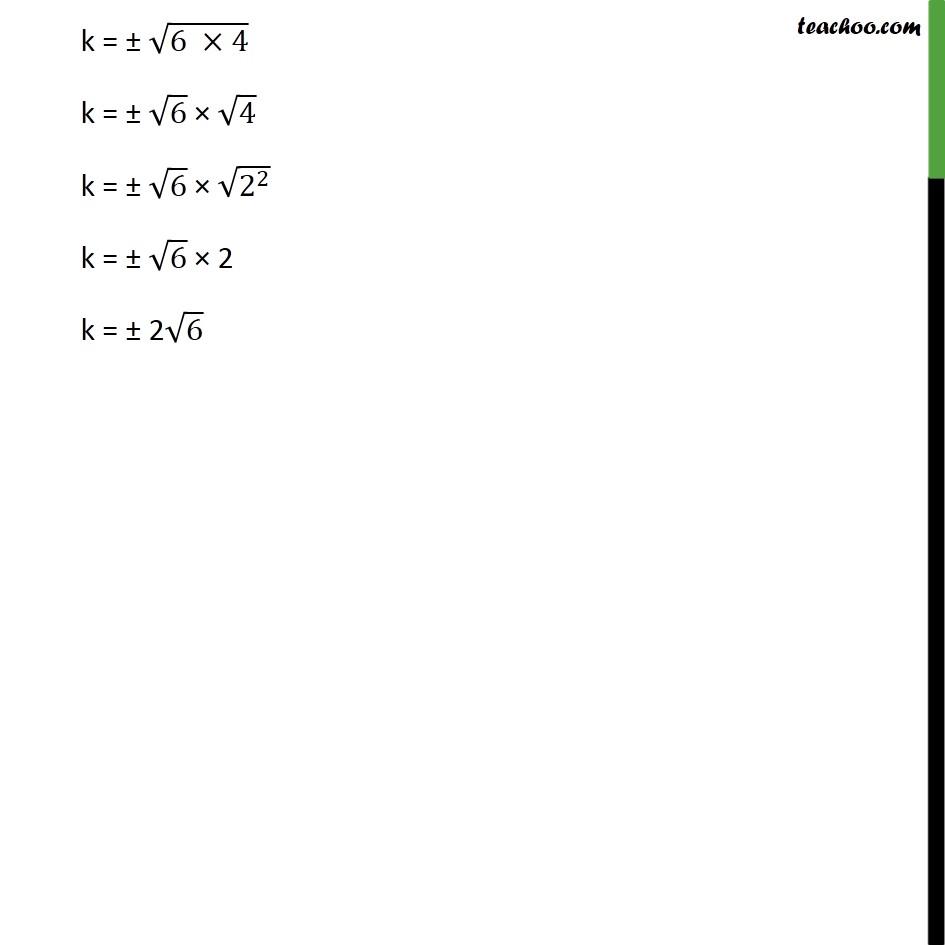 Ex 4.4, 2 - Chapter 4 Class 10 Quadratic Equations - Part 2