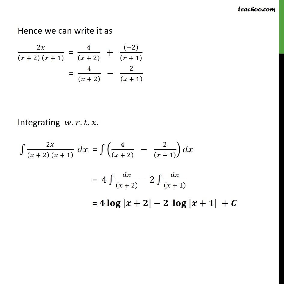 Ex 7.5, 5 - Chapter 7 Class 12 Integrals - Part 3