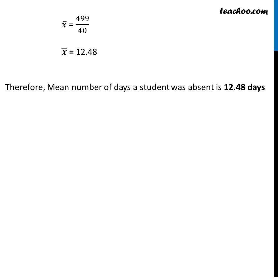Ex 14.1, 8 - Chapter 14 Class 10 Statistics - Part 3