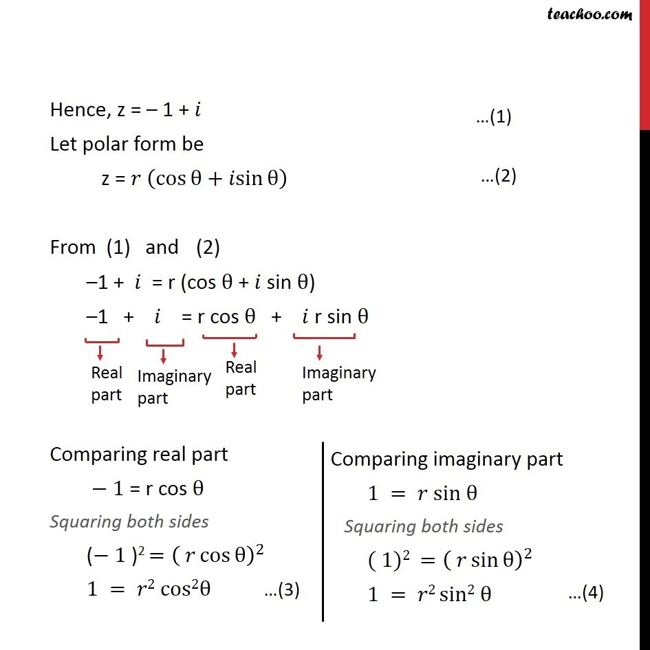 Misc 5 - Chapter 5 Class 11 Complex Numbers - Part 11