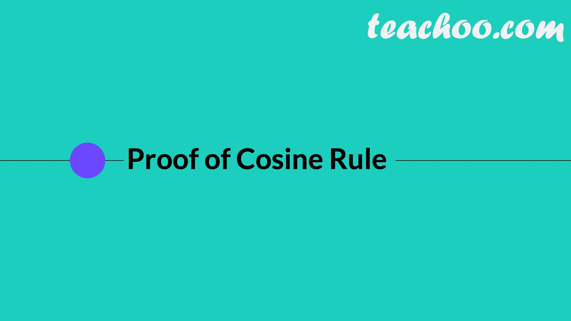 Law of Cosine (Cosine Law) - Part 2