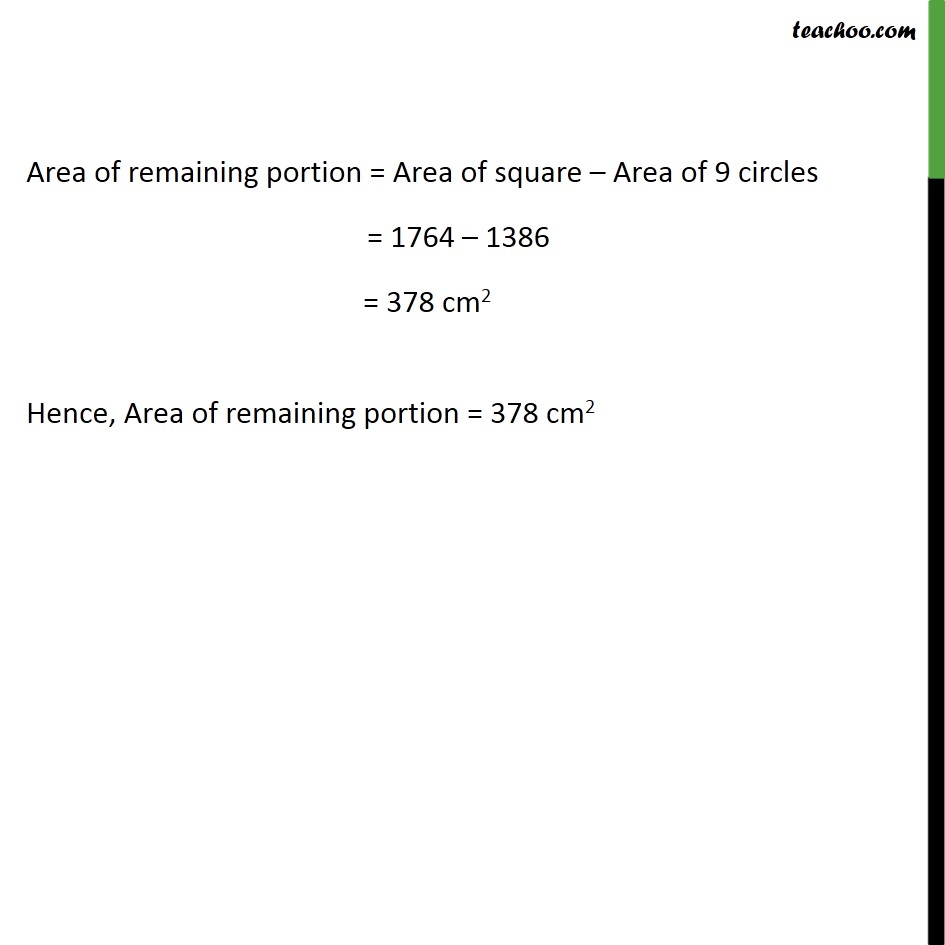 Ex 12.3, 11 - Chapter 12 Class 10 Areas related to Circles - Part 3