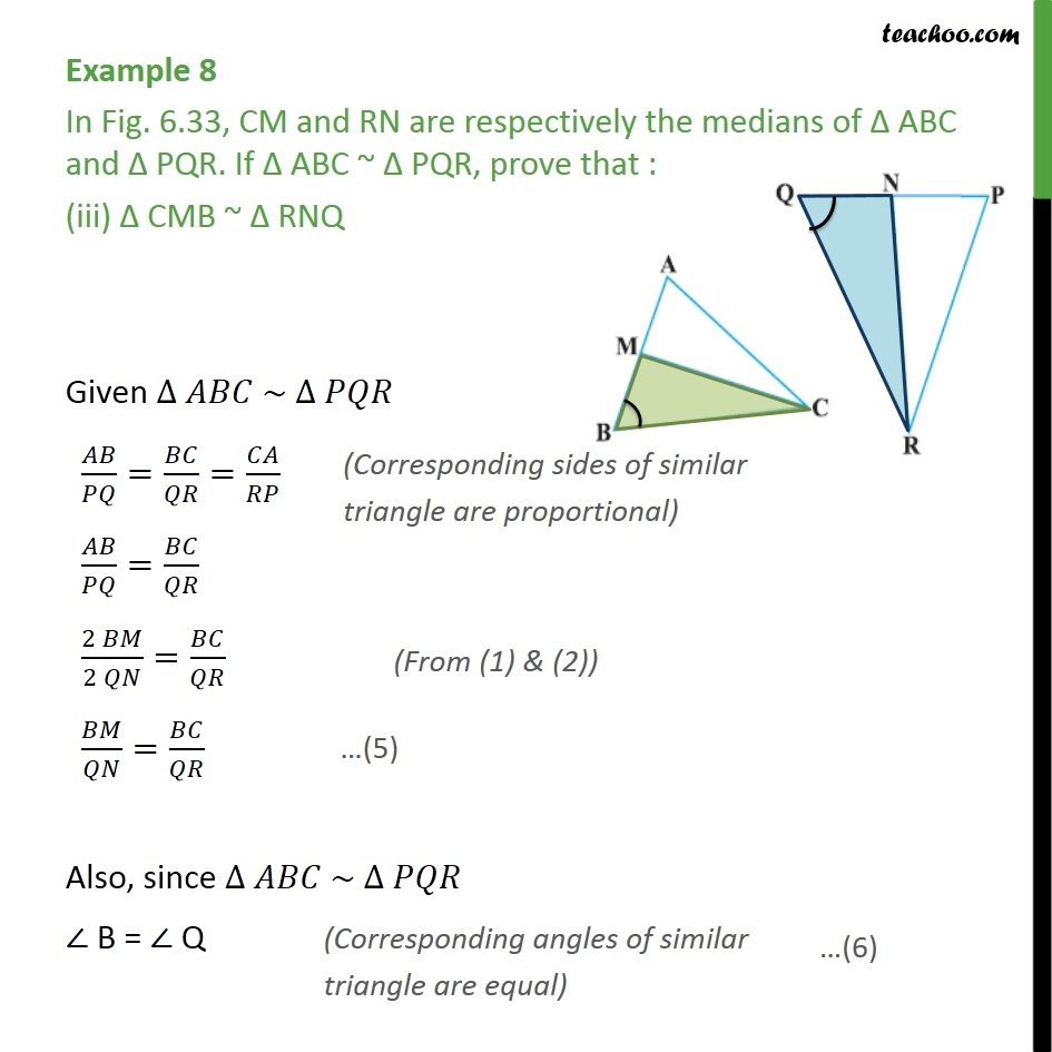 Example 8 - Chapter 6 Class 10 Triangles - Part 5