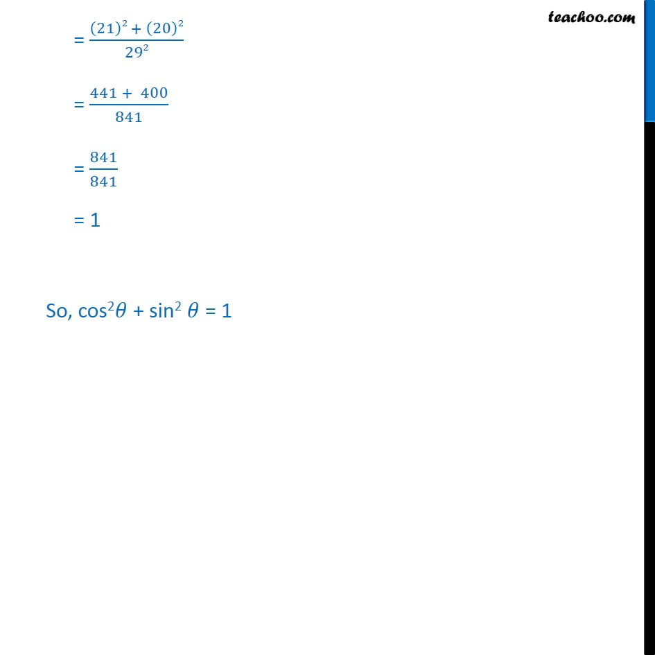 Example 3 - Chapter 8 Class 10 Introduction to Trignometry - Part 3