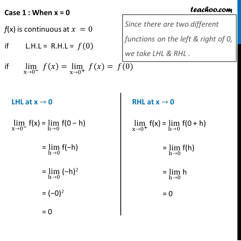 Example 13 - Chapter 5 Class 12 Continuity and Differentiability - Part 2
