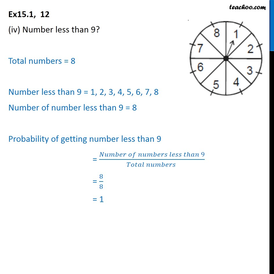 Ex 15.1, 12 - Chapter 15 Class 10 Probability - Part 4