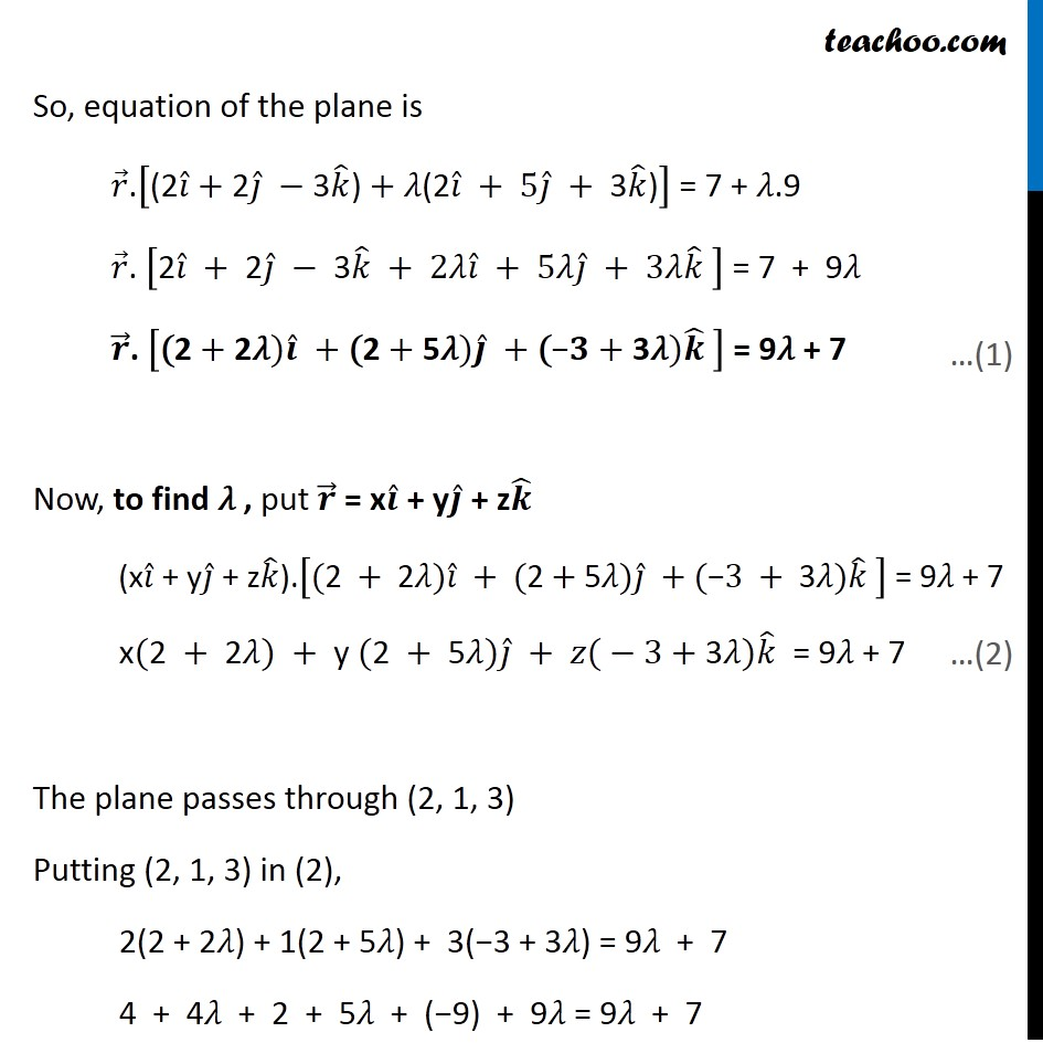 Ex 11.3, 10 - Chapter 11 Class 12 Three Dimensional Geometry - Part 2