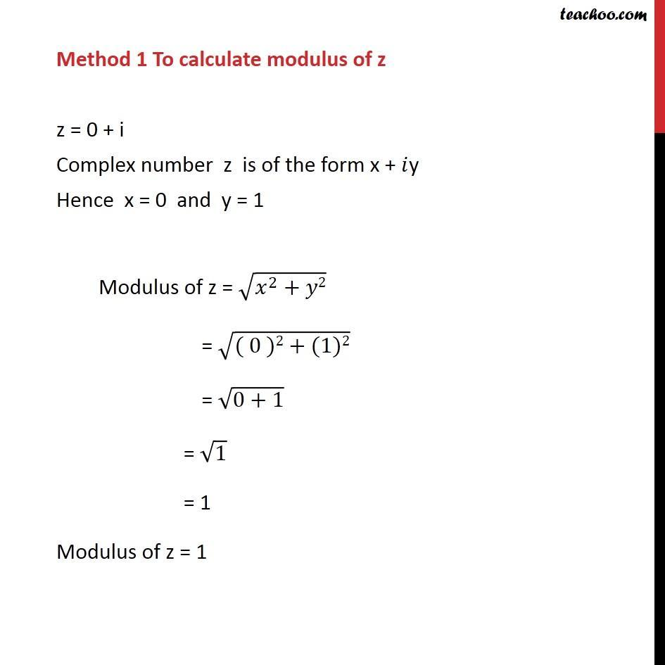 Example 13  - Chapter 5 Class 11 Complex Numbers - Part 3