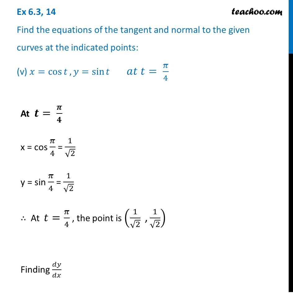 Ex 6.3,14 - Chapter 6 Class 12 Application of Derivatives - Part 13