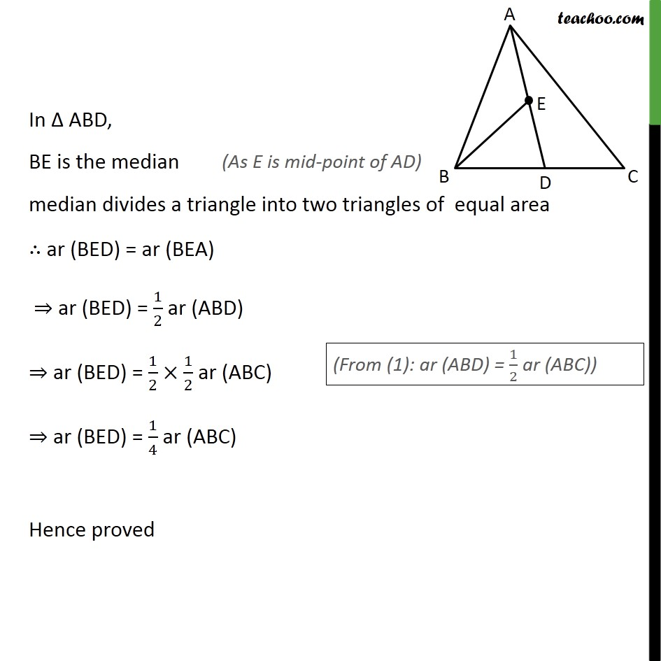 Ex 9.3, 2 - Chapter 9 Class 9 Areas of Parallelograms and Triangles - Part 2