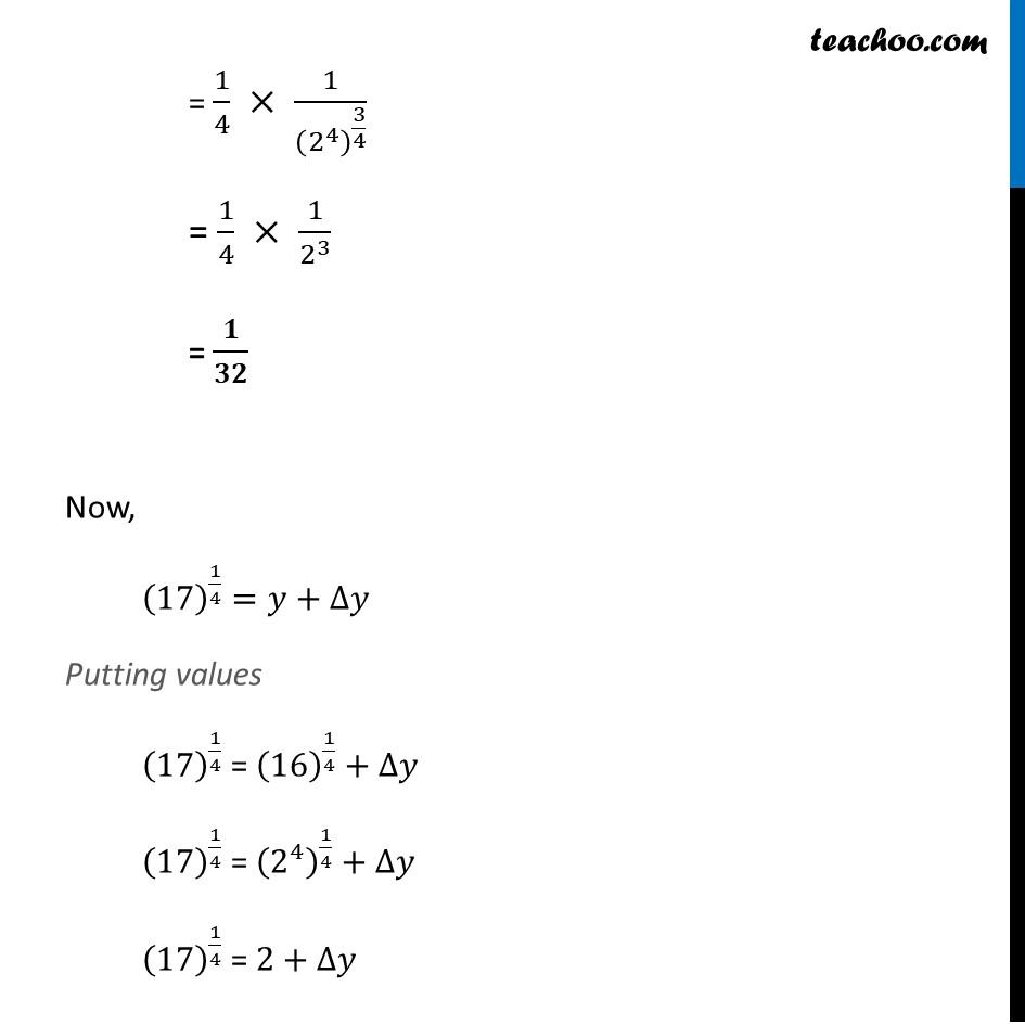 Misc 1 - Chapter 6 Class 12 Application of Derivatives - Part 3