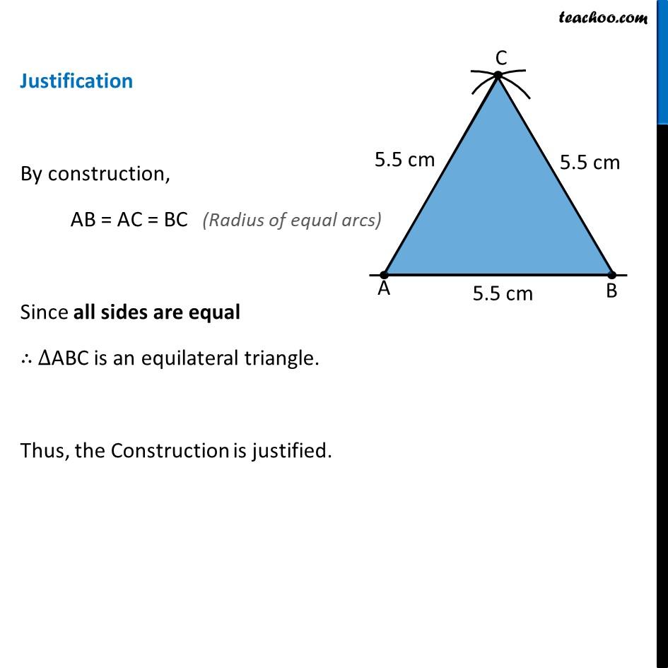 Ex 11.1, 5 - Chapter 11 Class 9 Constructions - Part 6