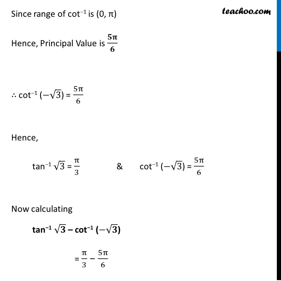 Ex 2.2, 21 - Chapter 2 Class 12 Inverse Trigonometric Functions - Part 3