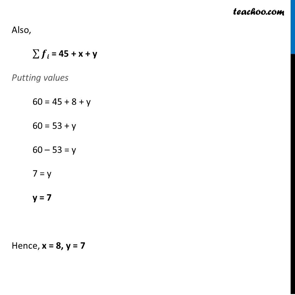 Ex 14.3, 2 - Chapter 14 Class 10 Statistics - Part 4