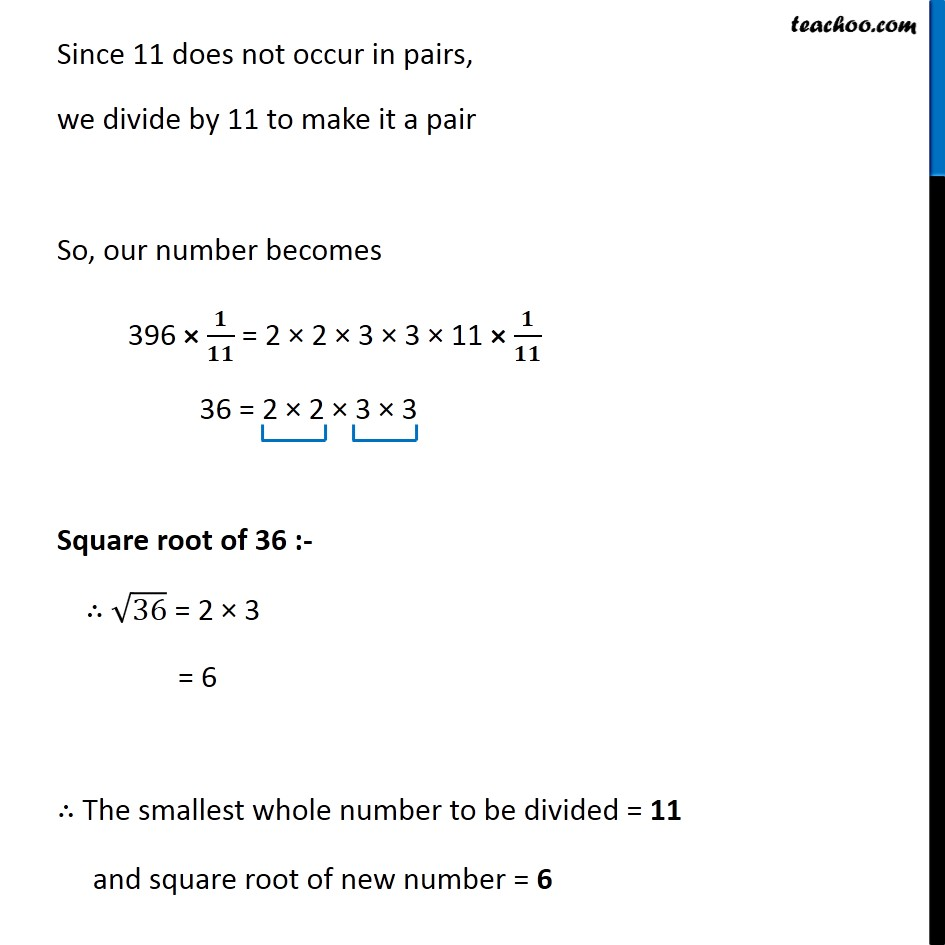 Ex 6.3, 6 - Chapter 6 Class 8 Squares and Square Roots - Part 6