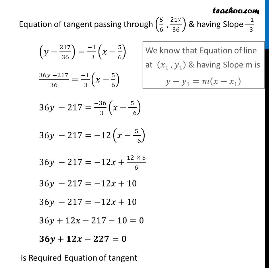 Ex 6.3,15 - Chapter 6 Class 12 Application of Derivatives - Part 7