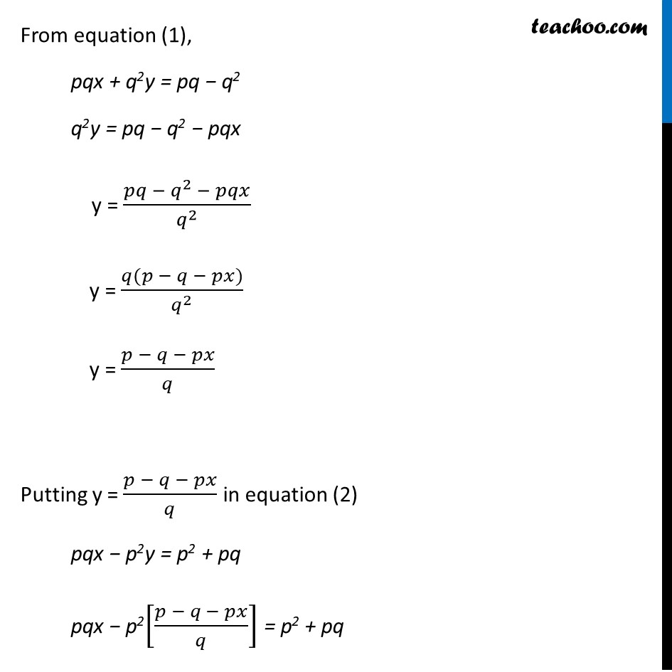 Ex 3.7, 7 (Optional) - Chapter 3 Class 10 Pair of Linear Equations in Two Variables - Part 2