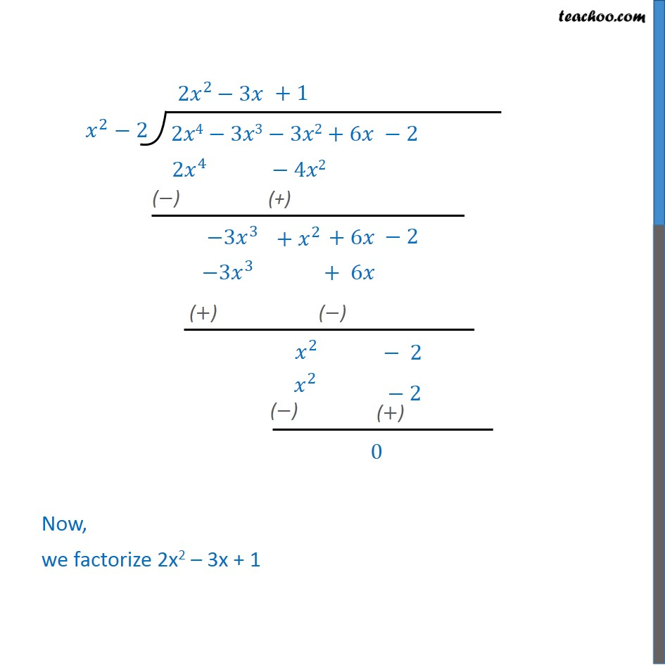 Example 9 - Chapter 2 Class 10 Polynomials - Part 3