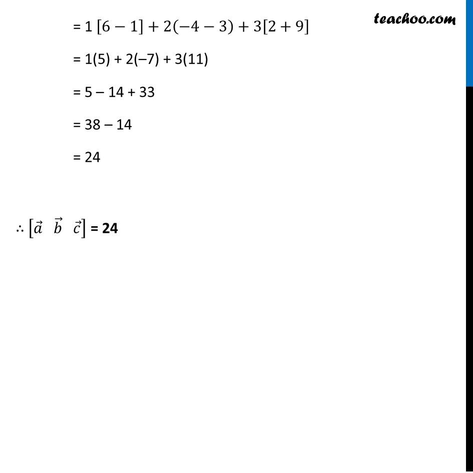 Ex 10.5, 1 (Supplementary NCERT) - Chapter 10 Class 12 Vector Algebra - Part 2