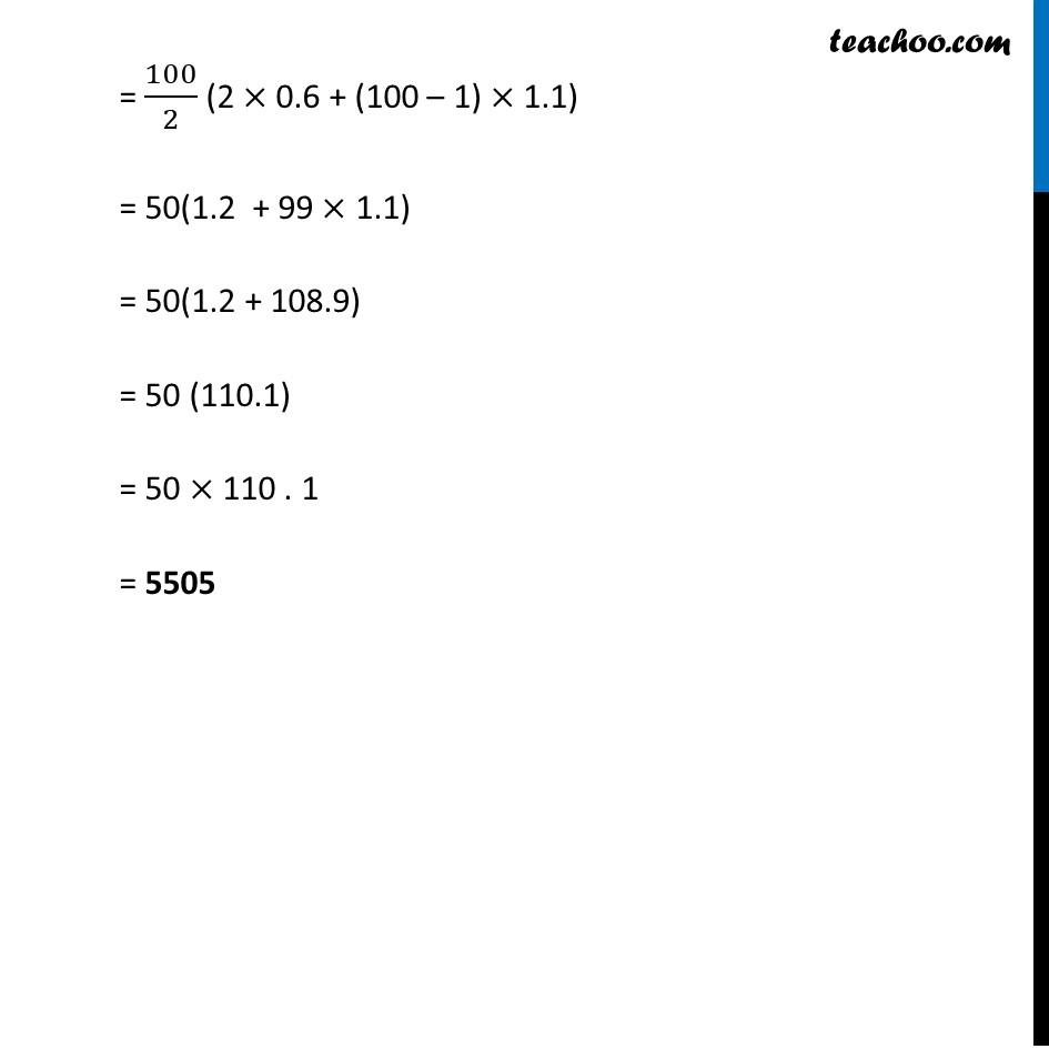 Ex 5.3, 1 - Chapter 5 Class 10 Arithmetic Progressions - Part 6