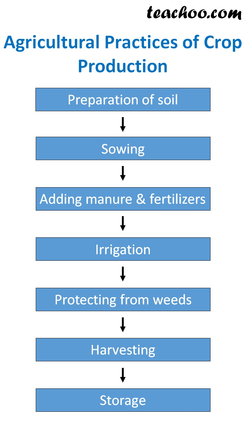 Different Agricultural Practices to prepare Crops - Teachoo.jpg