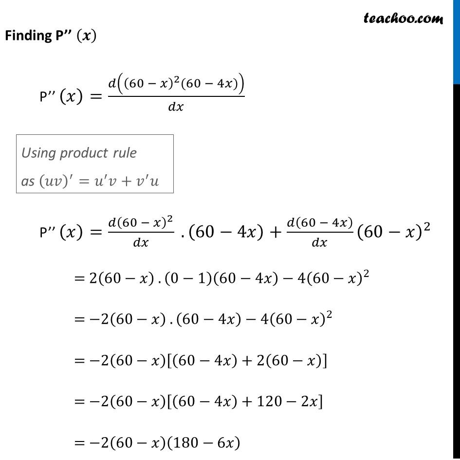 Ex 6.5,14 - Chapter 6 Class 12 Application of Derivatives - Part 4