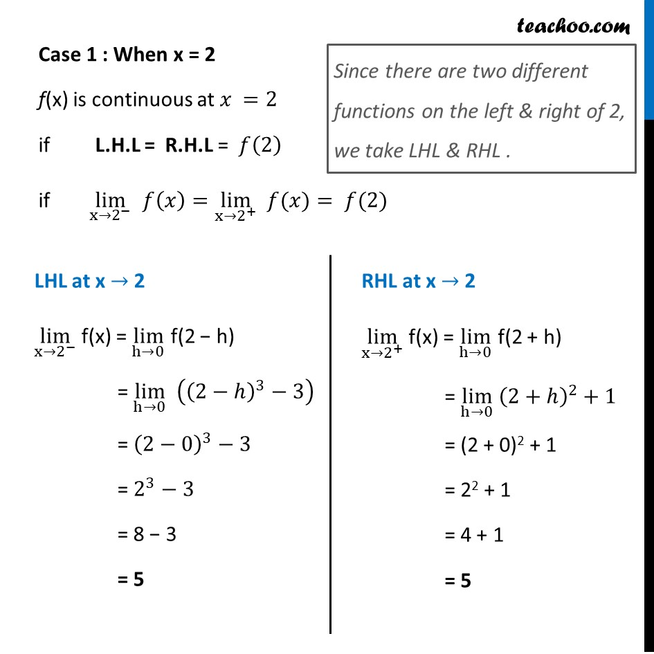 Ex 5.1, 11 - Chapter 5 Class 12 Continuity and Differentiability - Part 2