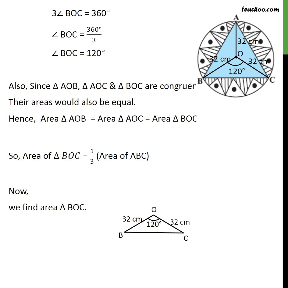 Ex 12.3, 6 - Chapter 12 Class 10 Areas related to Circles - Part 3