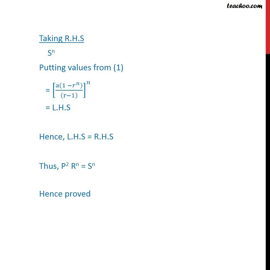 Misc 14 - Chapter 9 Class 11 Sequences and Series - Part 6
