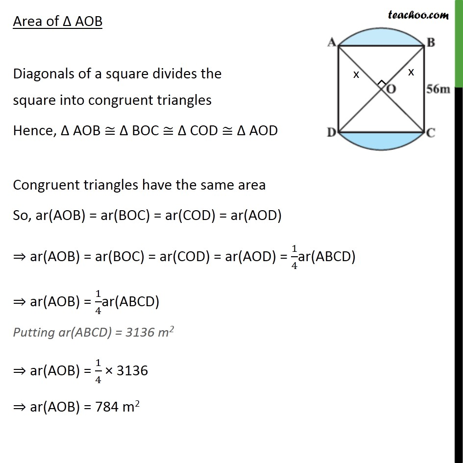 Example 4 - Chapter 12 Class 10 Areas related to Circles - Part 4