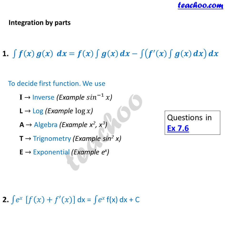 5 Integration by parts - Chapter 7 Class 12.JPG