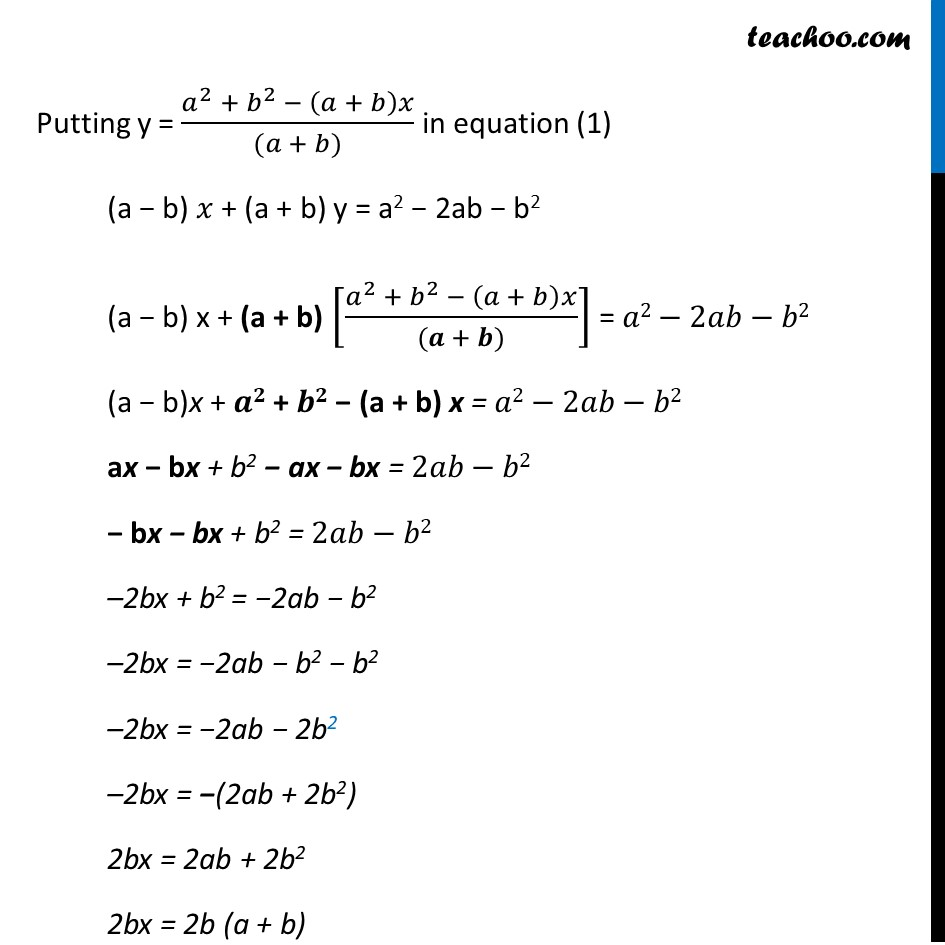 Ex 3.7, 7 (Optional) - Chapter 3 Class 10 Pair of Linear Equations in Two Variables - Part 15
