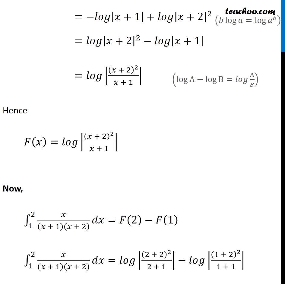 Example 27 - Chapter 7 Class 12 Integrals - Part 9