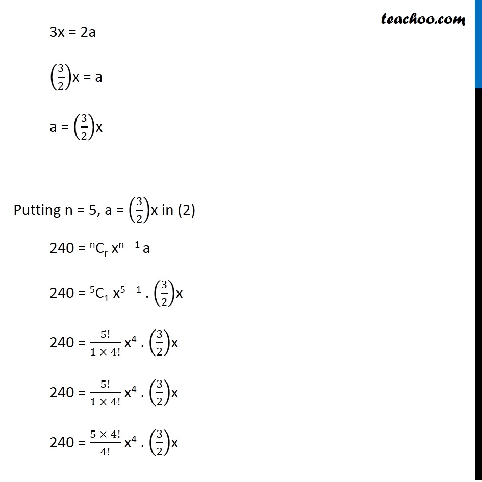 Example  8 - Chapter 8 Class 11 Binomial Theorem - Part 7