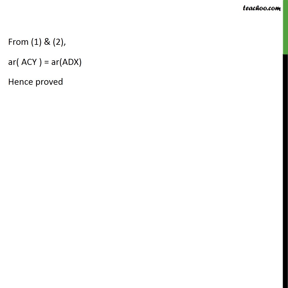 Ex 9.3, 13 - Chapter 9 Class 9 Areas of Parallelograms and Triangles - Part 2